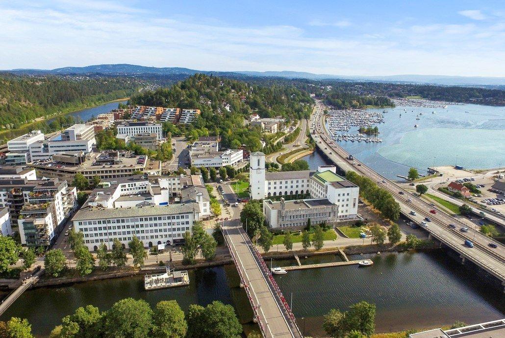 Asplan Viak har fått oppgaven med å utforme gater og byrom i bykjernen av Sandvika. Foto: Asplan Viak.