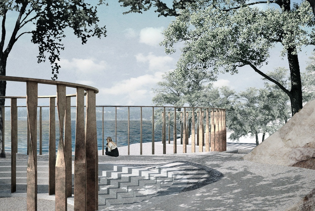Illustrasjon:  Statsbygg / Manthey Kula Arkitekter