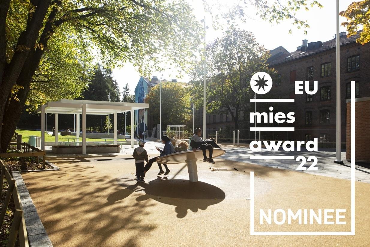 Nominasjonene til EU Mies Award vil bli presentert 2. februar. Foto: Asplan Viak / Jostein Thorvaldsen.