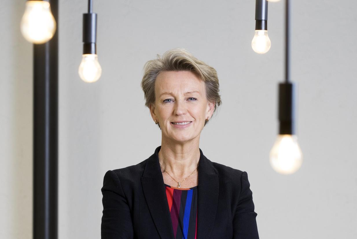 Dette en skikkelig gladmelding som viser at vi alle jobber sammen for å holde hjulene i gang i samfunnet, sier administrerende direktør i Asplan Viak, Elisabeth Heggelund Tørstad. Foto: Nina Rangøy