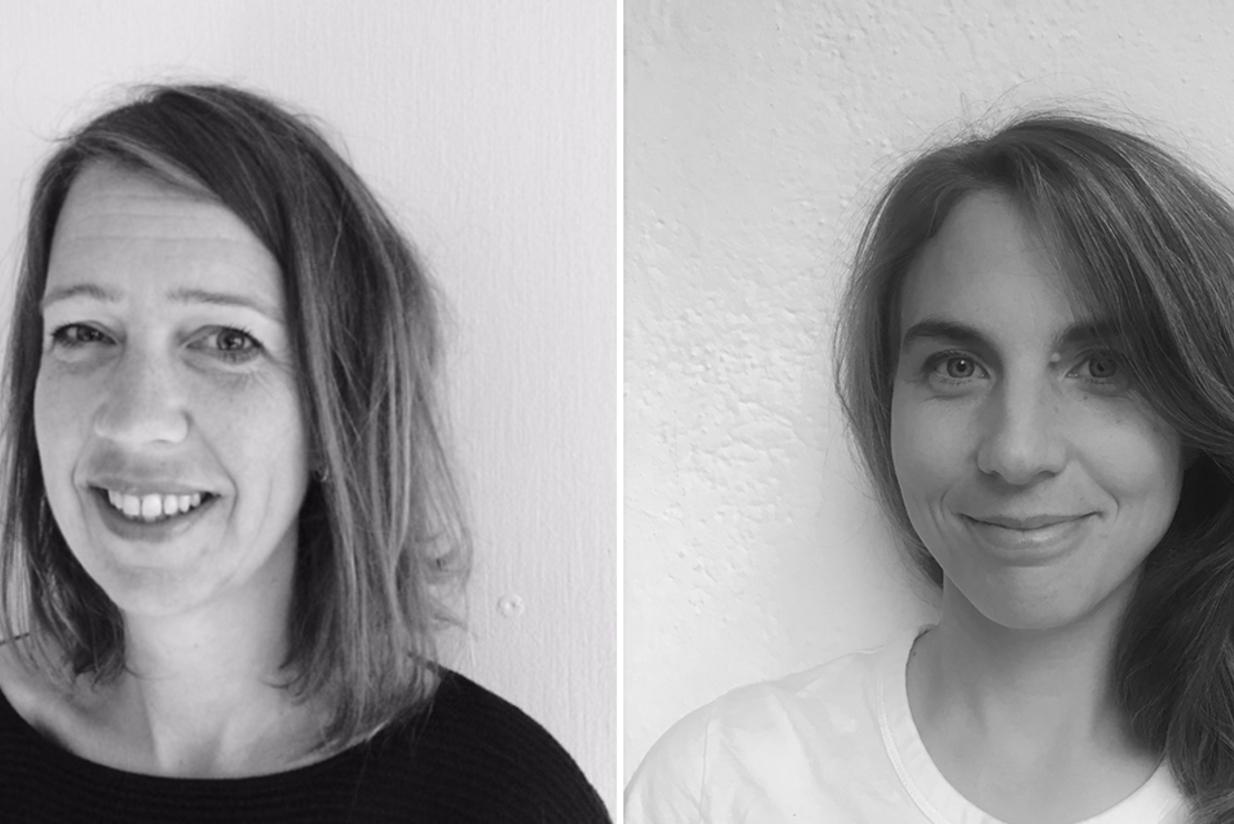 Til venstre: May Britt Hernes, fagsjef for Samfunnsplanlegging og analyse i Asplan Viak. Til høyre: Karoline Birkeli-Gauss som er prosjektleder for FOU-prosjektet om sosial bærekraft i Asplan Viak.