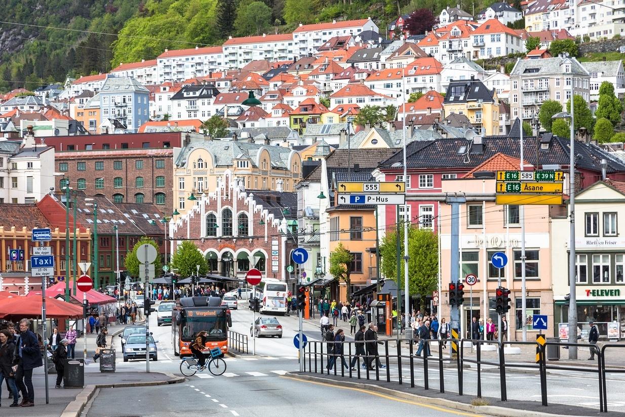 Komplekst byutviklingsoppdrag på gang i Bergen. Foto: Shutterstock
