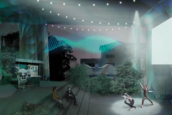 Broparken, kunst og kultur. Illustrasjon: Asplan Viak og Mad arkitekter