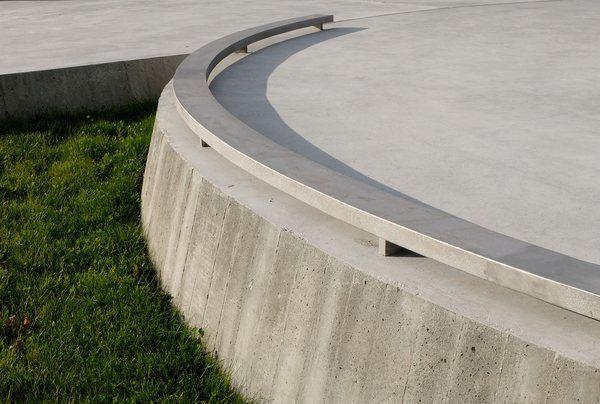 Ny «kanonstilling» med ledekant av stål. Foto: Asplan Viak