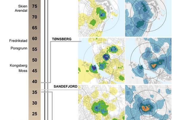 Områdetetthet. Illustrasjon: Katja Buen og Gunnar Berglund