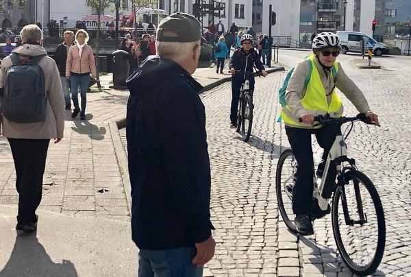 Asplan Viaks digitale sykkelkart er har løyper for alle, enten det er søndagstur med familien eller du skal ut på langtur. Foto: BraBy