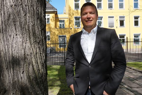 Per Christian Randgaard (44) går inn i Asplan Viaks ledergruppe. Foto: WSP