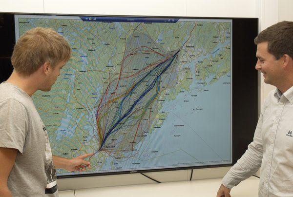 Verktøyet kan beregne hundre linjealternativer på få timer og har et enormt potensial. Foto: Trimble.