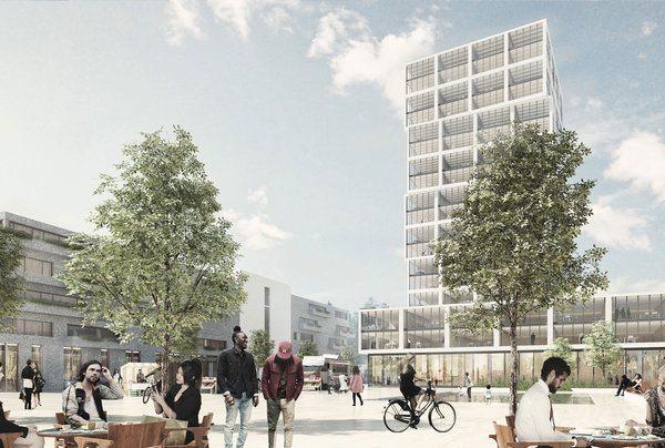 Lørenskog sentrum - Reisetorget i fremtiden