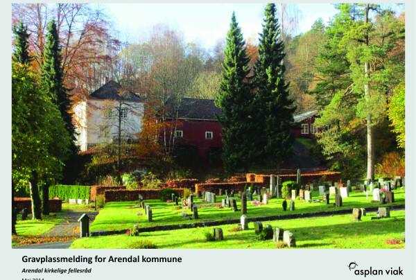 Gravplassmelding for Arendal kommune. Foto: Asplan Viak