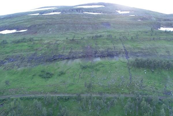 Kvænangsfjellet. Foto: Asplan Viak